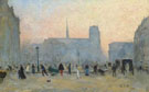Notre Dame de Paris 1903 - Siebe Johannes Ten Cate reproduction oil painting