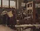 Bernardo Cennini Stampatore Nella Sua Bottega 1906 - Tito Lessi