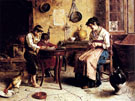The Writing Lesson - Eugenio Zampighi
