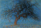 Evening Red Tree 1908 - Piet Mondrian