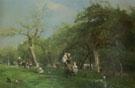 Un Dimanche A Saint Simeon 1876 - Adolf Felix Cals