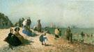 Les Bains de Mer A Honfleur - Alexandre Dubourg