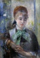 Portrait de Nini Lopez - Pierre Auguste Renoir