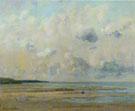 Rivage Pres de Honfluer 1866 - Gustave Courbet