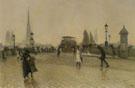 Vue de Rouen 1891 - Leon Jules Lemaitre