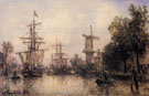The Port of Rotterdam B - Johan Barthold Jongkind