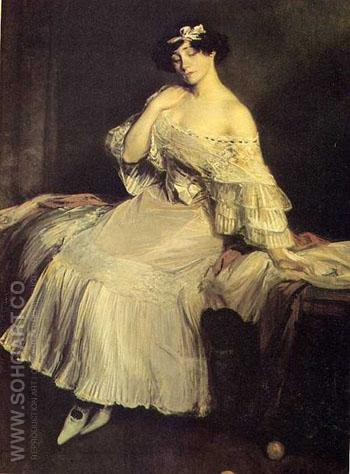 Colette - Jacques Emile Blanche reproduction oil painting