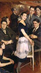 The Group of Six - Jacques Emile Blanche
