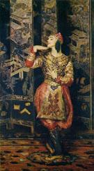Vaslac Nijinsky in Danse Siamoise 1910 - Jacques Emile Blanche