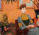 Portrait de Madame Champsaur 1890 - Emile Schuffenecker
