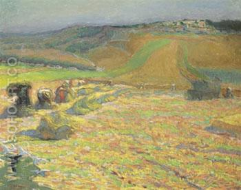 Workers in the Field - Emile Schuffenecker reproduction oil painting