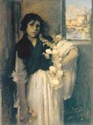 Venetian Onion Seller 1882 - John Singer Sargent reproduction oil painting