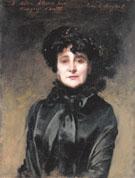 Portrait of Madame Allouard Jouan 1884 - John Singer Sargent