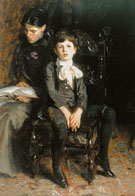 Portrait of a Boy Home St Gaudeus 1890 - John Singer Sargent
