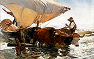 The Return from Fishing 1894 - Joaquin Sorolla