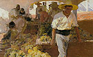 Transporting The Grape Harvest Javea 1900 - Joaquin Sorolla