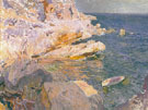 Rocks at Javea 1905 - Joaquin Sorolla