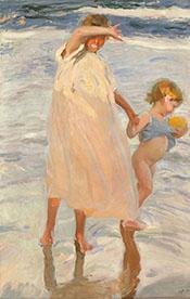 The Two Sisters 1909 - Joaquin Sorolla