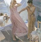 After Bathing Valencia 1909 - Joaquin Sorolla