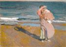 Fisherwoman with Her Son Valencia 1908 - Joaquin Sorolla