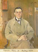 Ramon Perez de Ayala 1920 - Joaquin Sorolla