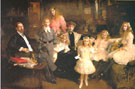 The Family of Rafael Errazuiz 1905 - Joaquin Sorolla reproduction oil painting
