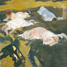 The Nap 1911 - Joaquin Sorolla reproduction oil painting