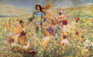 The Knight of The Flowers 1894 - Georges Antoine Rochegrosse
