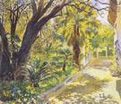 Giardino A El Biar 1931 - Georges Antoine Rochegrosse