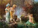 A Water Idyll - Hans Zatzka