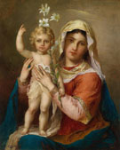 Madonna with Child - Hans Zatzka