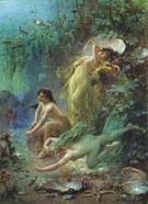 Pearls of the Sea - Hans Zatzka reproduction oil painting