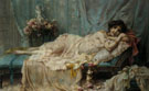 Reclining Beauty - Hans Zatzka