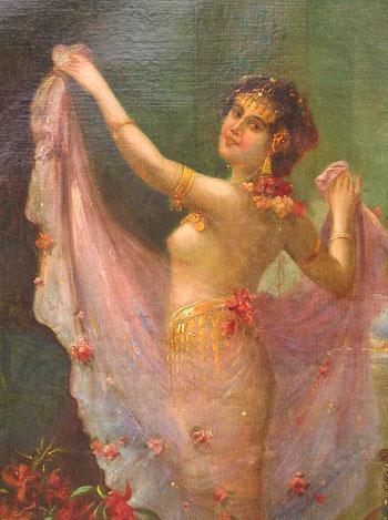 The Harem Dancer - Hans Zatzka reproduction oil painting