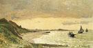 View of the Coast at Sainte Adresse 1864 - Claude Monet