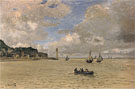 Lighthouse at the Hospice at Honfleur 1864 - Claude Monet reproduction oil painting