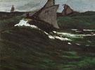 The Green Wave 1865 - Claude Monet