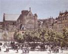 Church of Saint Germain I Auxerrois 1867 - Claude Monet