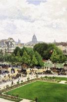 The Garden of the Princess 1867 - Claude Monet
