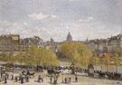 Quai du Louvre 1866 - Claude Monet