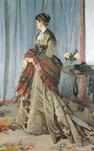 Portrait of Mme Gaudibert 1868 - Claude Monet