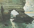 Cliffs at Etretat 1868 - Claude Monet