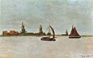 The Voorzaan at Zaandam 1871 - Claude Monet