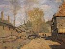 The Robec Stream Rouen 1872 - Claude Monet