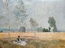 Spring Environs of Argenteuil 1874 - Claude Monet