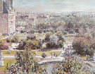 The Tuileries 1876 - Claude Monet reproduction oil painting