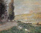The Banks of Seine 1879 - Claude Monet reproduction oil painting