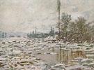 Break Up of the Ice 1880 - Claude Monet