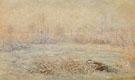 Hoarfrost near Vetheuil 1880 - Claude Monet