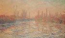 Ice Thawing on the Seine 1880 - Claude Monet